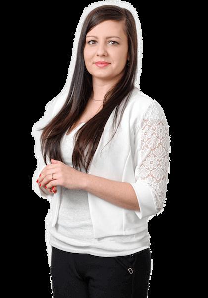 Petra Bóriková - office manager