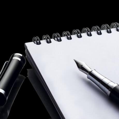 Písacie pomôcky využívané v advokátskej kancelárii GRMAN & PARTNERS